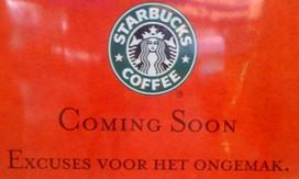 Eerste Starbucks op station opent woensdag