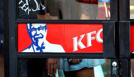 KFC pal naast McDonald's in Purmerend