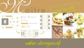Modulair cateringconcept van Maître Frédéric