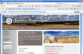 Nederlandse site voor Chambres d'Hotes