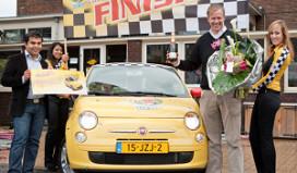 Lipton Fiat 500 naar Leids stadscafé