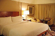 Hotelgasten bespied in bed