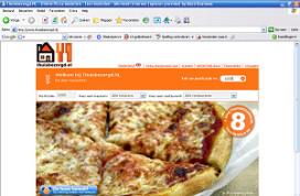 Servers Thuisbezorgd.nl overbelast