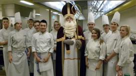 Sinterklaas bezoekt De Rooi Pannen