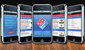 Pizza bestellen via iPhone