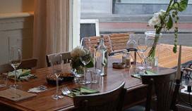 ICT-ers in de leer bij restaurant