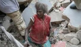 Honderden vermist na instorten hotel Haïti