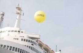 Horecaschip 'De Rotterdam' open voor publiek