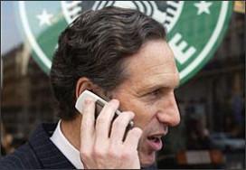 Kritiek op Starbucks door salaris topman