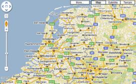 Test met hotelprijzen op Google Maps