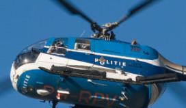 Politie zet helikopter in tegen overvallen