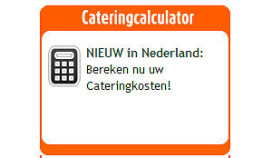 Calculator cateringkosten Leo op het Werk