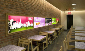 Eind eco-fastfoodrestaurants Danku
