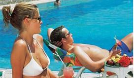 Vrouw bepaalt vakantiedoel