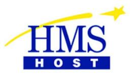 HMSHost voelt daling passagiers Schiphol