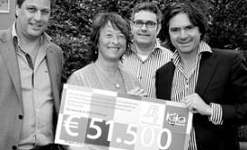 Relais Restaurants schenkt € 51.500 aan KIKA