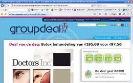 Horeca-aanbiedingen op GroupDeal.nl