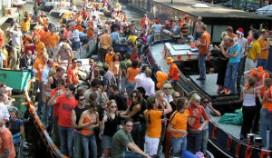 Ruim 750.000 feestgangers in Amsterdam