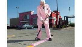 KFC kleurt roze voor goed doel
