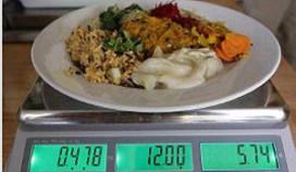 Betalen per gewicht in Gents restaurant