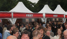 La Place bestelt 50 ton biopatat voor events