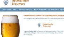 Centraal Brouwerij Kantoor wordt Nederlandse Brouwers