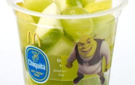 McDonald's geeft fruittoetje bij Shrek HappyMeal