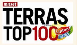 Ruim 700 inschrijvingen voor Terras Top 100 notering