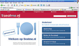 '20 procent restaurantboekingen via web