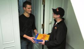 Veel pizza's  bij middagwedstrijden van Oranje