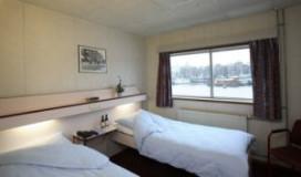 Drijvend hotel Haje de Jager bij A6
