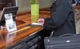 Noteren beroep van hotelgast niet meer nodig