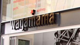 Wagamama in etalage