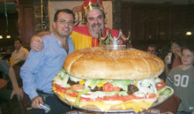 Pleidooi cholestorolverlager bij hamburger
