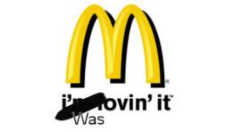 McDonald's zwartgemaakt in tv-spotje