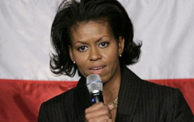 Michelle Obama maant restaurantsector