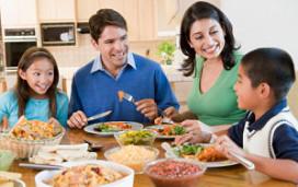 Eten in familieverband voorkomt overgewicht