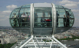 Ramsay kookt in de London Eye