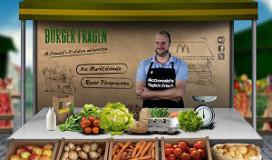 McDonalds opent marktkraam in Duitsland