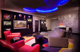 Speciale 'Mickey-suite' in Disneylandhotel