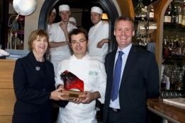 Michel van der Kroft officieel lid van de Chefs' Irish Beef Club