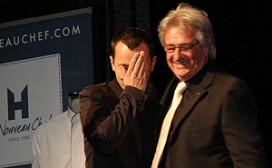 Tranen bij Zarzo Habraken na Gault Millau-award