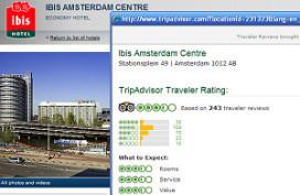 Accor publiceert alle reviews van TripAdvisor.com
