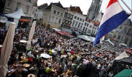 Grote Markt Breda loopt leeg