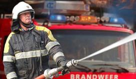 Hotel ontruimd door brand in kraakpand