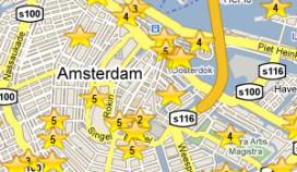 Politie ramt gevel Amsterdams hotel