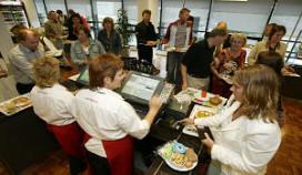 Totaalomzet catering in 2010 bijna drie procent minder