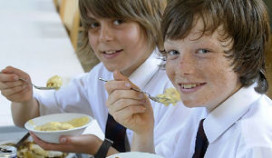 Boek over gezonde voeding voor kinderen