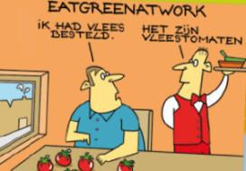 Cateraars steunen Eat Green at Work