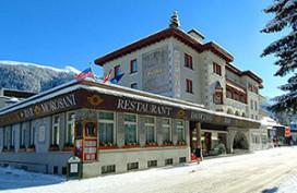 Aanslag in Posthotel bij forum Davos